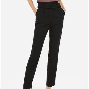 Express Super High Waisted Ankle Pants